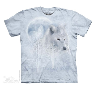 T-Shirt - White Wolf Moon